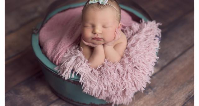 Clarice | 4 dias de vida | ensaio newborn | menina | fotógrafo infantil e de família São Leopoldo